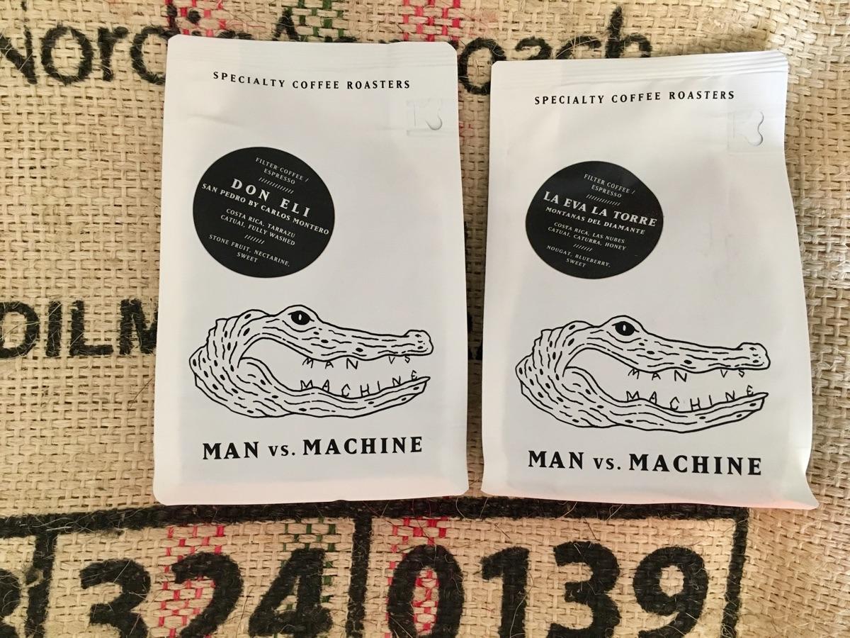 Don Eli & La Eva La Torre von den Man versus Machine Coffee Roasters | Foto © Helmut Hackl