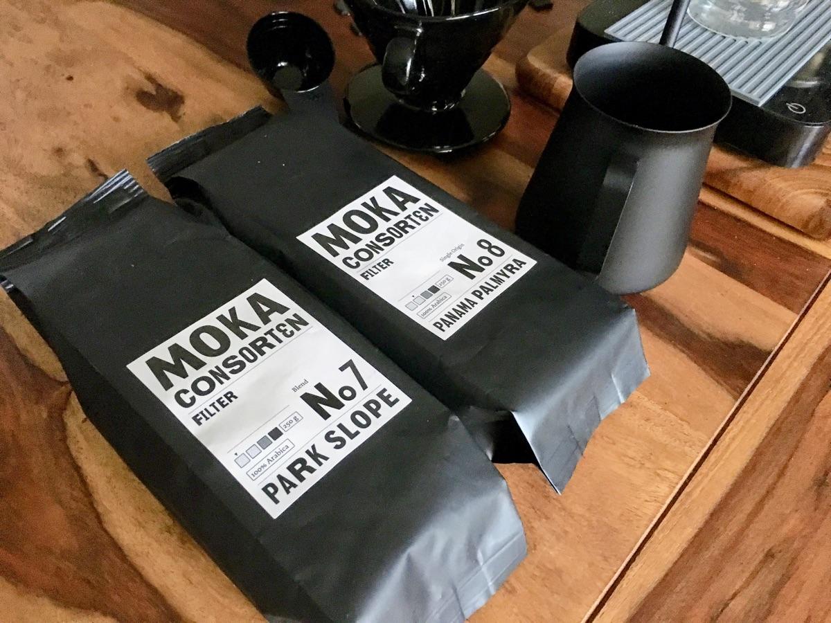 Filterkaffee von den Moka Consorten: Panama Palmyra & Park Slope Costa Rica | Foto © Helmut Hackl