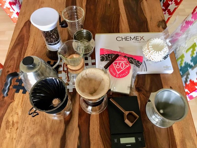Pour Over Coffee | Foto © Helmut Hackl