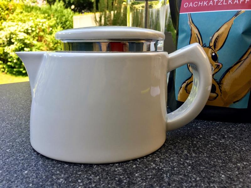 SoftBrew mit der Sowden Oskar Kaffeekanne | Foto © Helmut Hackl