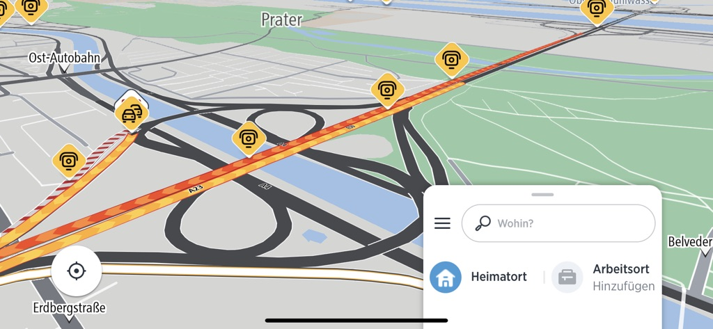 TomTom AmiGO Online-Navigation