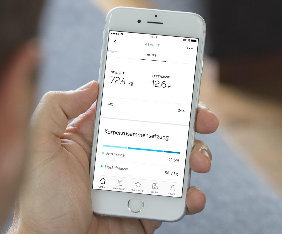 Health Mate App | Foto © Withings