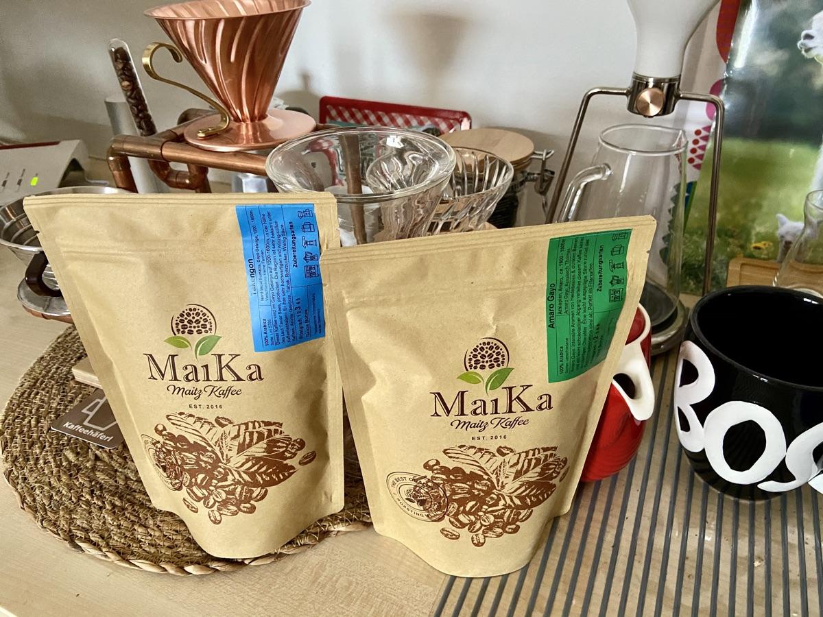 Takengon & Amara Gayo von der Kaffeerösterei Maitz | Foto © Helmut Hackl