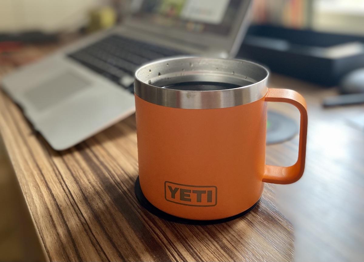YETI Rambler 14 oz Mug | Foto © Helmut Hackl