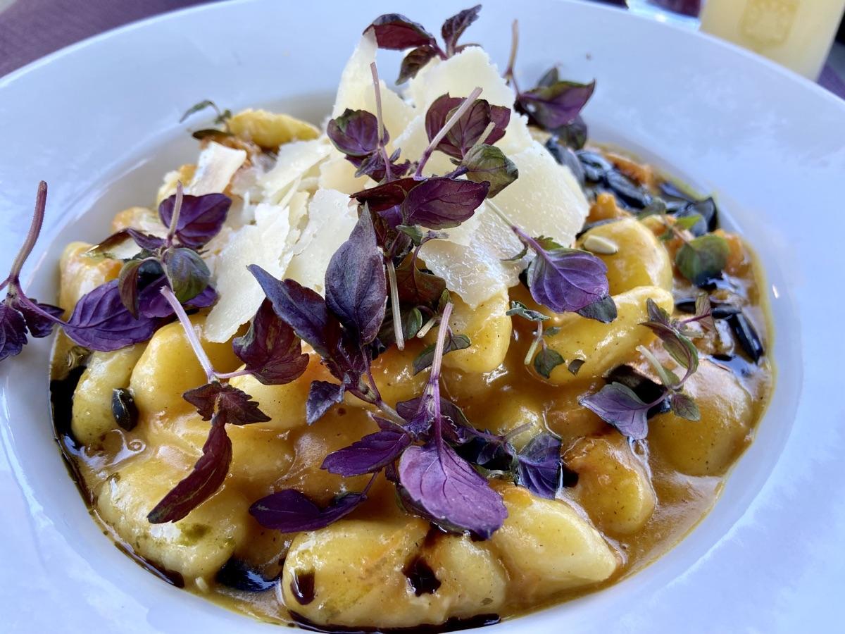 Gnocchi's in cremigem Kürbisconfit Genuss Treff Rosenhügel   Foto © Helmut Hackl