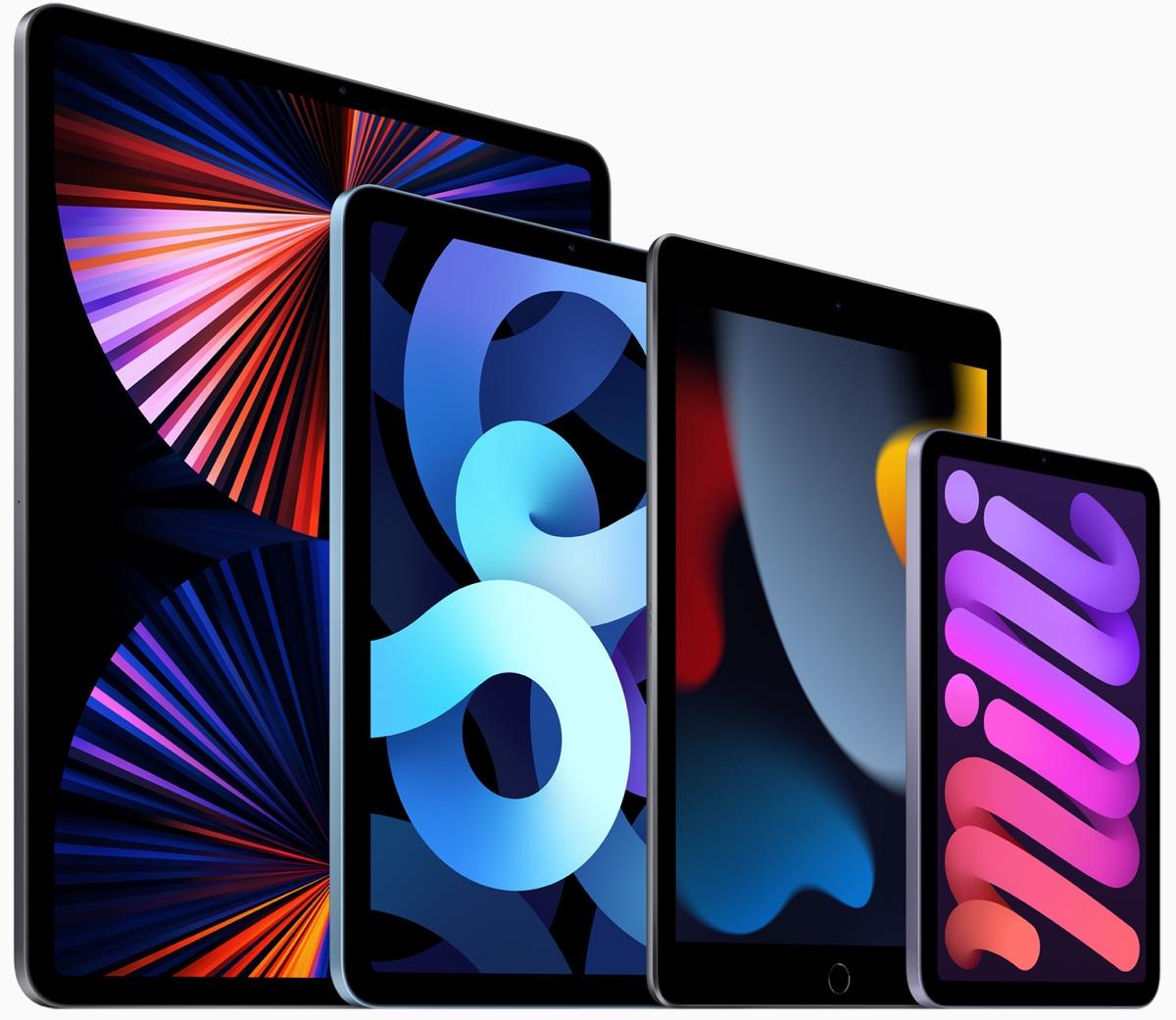 iPad-Familie | Foto © Apple
