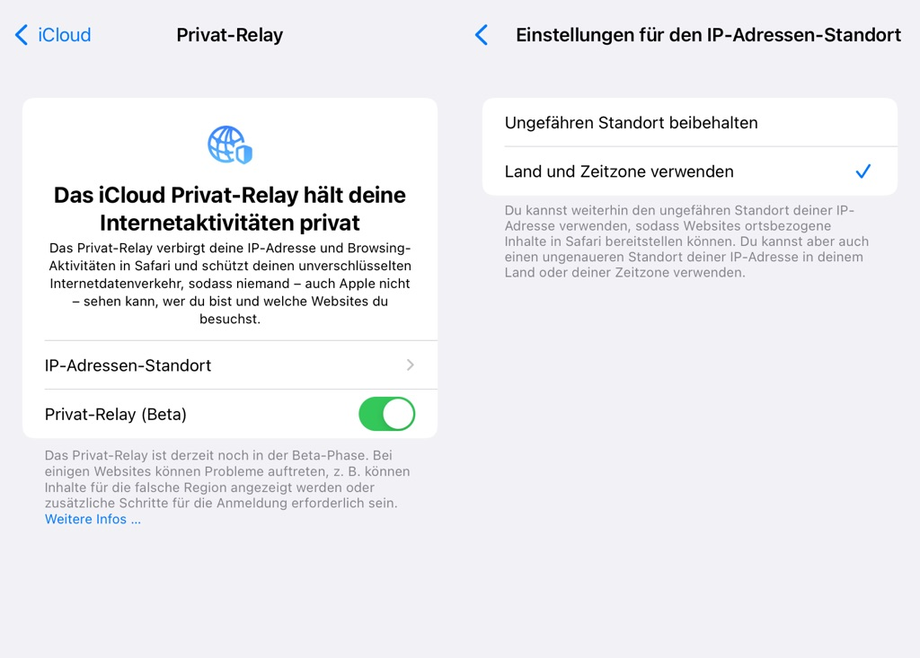 Apple iCloud Private-Relay